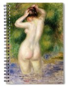 Nude Wading, Circa 1880 Spiral Notebook