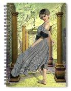 Nuria De Sants Spiral Notebook