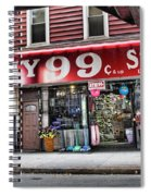 Ny 99 Cent Store Brooklyn  Spiral Notebook