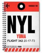 Nyl Yuma Luggage Tag I Spiral Notebook