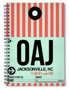 Oaj Jacksonville Luggage Tag I Spiral Notebook