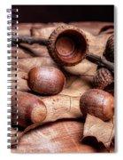 Oak Tree Macro Spiral Notebook