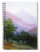 Oaks In The Mountains Of Carrara Spiral Notebook