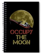 Occupy The Moon Spiral Notebook