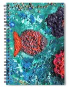 Ocean Emotion - Pintoresco Art By Sylvia Spiral Notebook