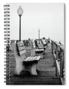 Ocean Grove Pier 2 Spiral Notebook