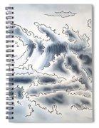 Ocean Rising Spiral Notebook