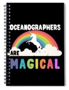 Oceanographers Are Magical Spiral Notebook