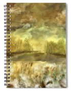 October At The Falls Spiral Notebook