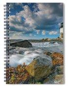October Morning At Marshall Point Spiral Notebook
