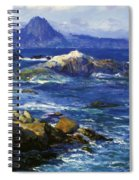 Off Mission Point Aka Point Lobos Spiral Notebook
