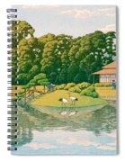 okayama kourakuen - Top Quality Image Edition Spiral Notebook