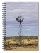 Oklahoma Windmill Spiral Notebook