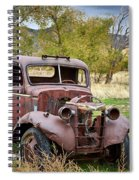 Old Abandoned Chevy Truck Spiral Notebook