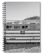 Old Abandoned Vintage Bus Jerome Arizona Spiral Notebook