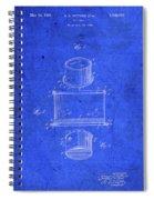 Old Ant Trap Vintage Patent Blueprint Spiral Notebook