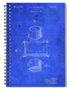 Old Ant Trap Vintage Patent Blueprint Spiral Notebook