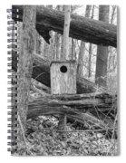 Old Birdhouse Spiral Notebook