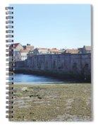 old bridge across river Tweed at Berwick-upon-tweed Spiral Notebook