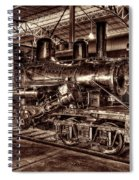 Old Climax Engine No 4 Spiral Notebook