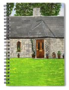 Old Columba's Church Rectory Spiral Notebook