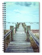 Old Dock Hyannis Port Cape Cod Ma Spiral Notebook