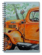 Old Dodge Truck At Patterson Farms Spiral Notebook