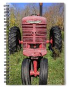 Old Farmall Vintage Tractor Springfield Nh Spiral Notebook