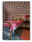 Old Farmhouse Upstairs Bedroom Spiral Notebook