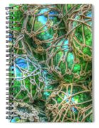 Old Glass Buoys Spiral Notebook