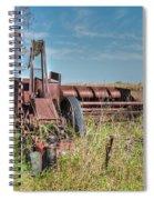 Old Hay Baler Spiral Notebook