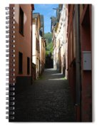 old historic lane in Cochem Germany Spiral Notebook