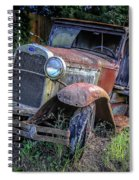 Old Model Aa Ford In The Jungle 2 Spiral Notebook