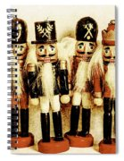 Old Nutcracker Brigade Spiral Notebook