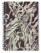 Old Nyc Decorations Spiral Notebook