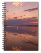 Old Orchard Beach Glorious Sunset Spiral Notebook