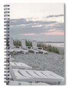 Old Orchard Beach Tranquil Morning Spiral Notebook