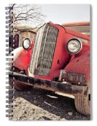 Old Red Truck Jerome Arizona Spiral Notebook