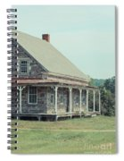 Old Stone Farm House Newbury Vermont Spiral Notebook