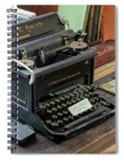 Old Style Texting Spiral Notebook