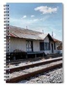 Old Train Depot In Gray, Georgia 2 Spiral Notebook