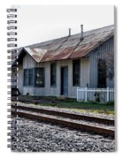 Old Train Depot In Gray, Georgia 1 Spiral Notebook