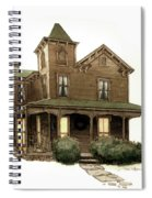 Old Washington Memories Spiral Notebook