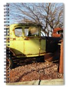 Old Yellow Coupe Spiral Notebook