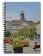 Olde Montreal Spiral Notebook