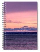 Olympic Mountains, Washington Spiral Notebook