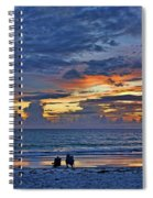 On A Quiet Beach With You Spiral Notebook