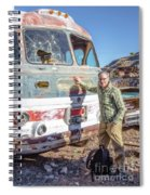 On Location Photographer Edward Fielding In Jerome Arizona Spiral Notebook