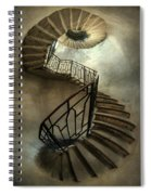 An Old Staircase Spiral Notebook