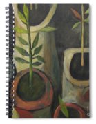 On Polia's Table Spiral Notebook